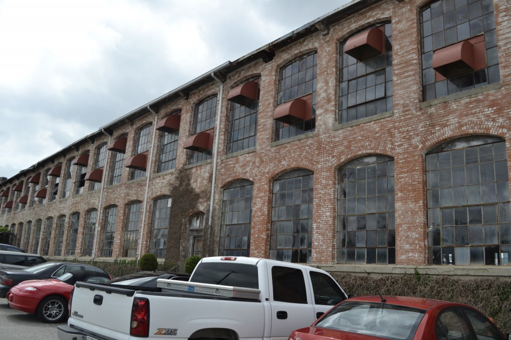 McKinney's Cotton Mill lends its industrial charm to Collide Village.
