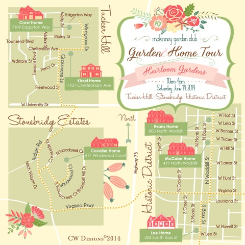 Enjoy Father's Dat at the Mckinney Garden Club Garden Tour