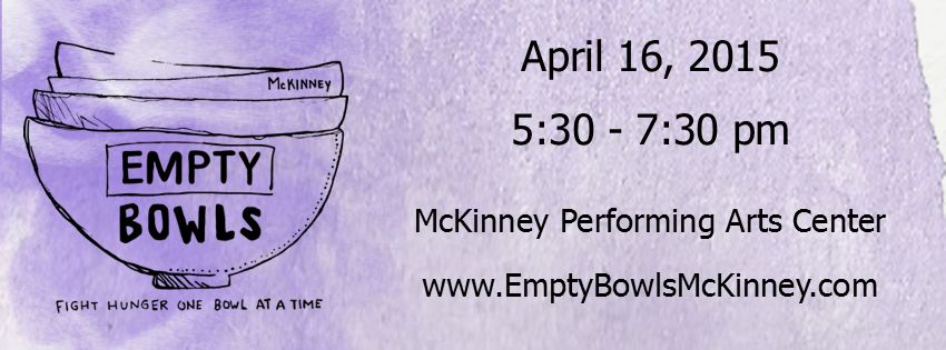 GM Empty Bowls Banner